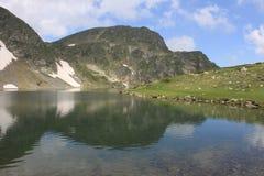 Montagna di Rila in Bulgaria Fotografia Stock
