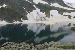 Montagna di Rila in Bulgaria Fotografia Stock Libera da Diritti