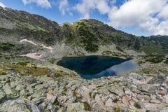 Montagna di Rila, laghi Musalenski Immagini Stock Libere da Diritti