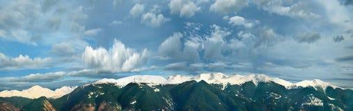 Montagna di Rila, panorama della Bulgaria Fotografia Stock Libera da Diritti