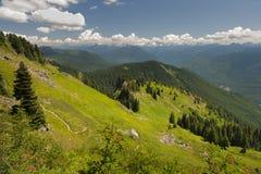 Montagna di Sauk, Washington, U.S.A. Fotografie Stock Libere da Diritti