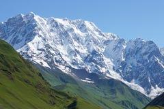 Montagna di Schchara, Georgia, Europa Fotografia Stock
