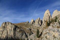 Montagna di Sella fotografia stock