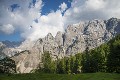 Montagna di Skrlatica, alpi di Julian, Slovenia Immagini Stock