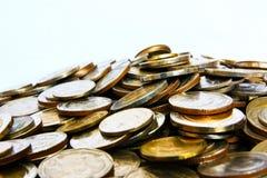 Montagna di soldi Fotografia Stock Libera da Diritti