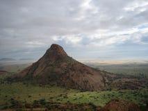 Montagna di Spitzkoppe Fotografia Stock