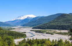 Montagna di St Helens (Washington) Fotografia Stock Libera da Diritti