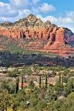 Montagna di Sugarloaf, traccia della sommità, la contea di Maricopa, Sedona, Arizona, Stati Uniti immagine stock libera da diritti