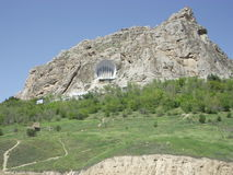 Montagna di Sulayman di vista in Oš immagini stock libere da diritti