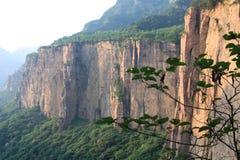 Montagna di Taihang della Cina Fotografia Stock
