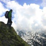 Montagna di Tatra Fotografie Stock