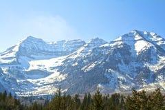 Montagna di Timpanogos Fotografia Stock
