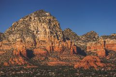 Montagna di tuono della collina del Campidoglio e montagna di Sugarloaf Fotografia Stock
