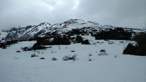 Montagna di Ushuaia Fotografia Stock