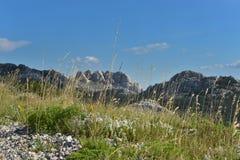Montagna di Velebit Fotografie Stock