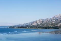 Montagna di Velebit in Croazia Fotografia Stock
