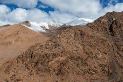 Montagna di Viewof Himalaya nel ladak, leh India Fotografia Stock Libera da Diritti
