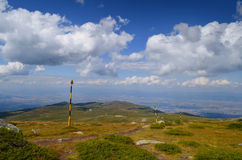 Montagna di Vitosha Fotografia Stock