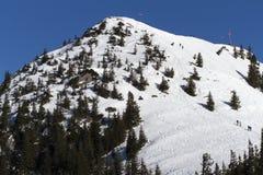 Montagna di Wallberg in Baviera, Germania Immagine Stock