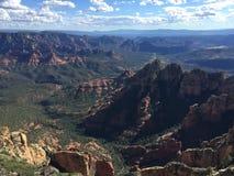 Montagna di Wilson di panoramica Fotografie Stock