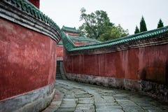 Montagna di Wudang immagine stock