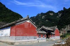 Montagna di Wudang, una Terra Santa famosa del taoista in Cina Fotografia Stock