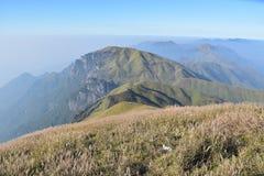 Montagna di Wugong Fotografia Stock