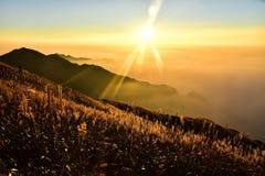 Montagna di Wugong Immagini Stock