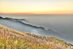 Montagna di Wugong Immagine Stock Libera da Diritti