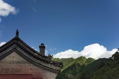 Montagna di Wutai Immagine Stock