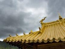Montagna di Wutai Fotografia Stock