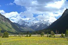 Montagna di Xiata Fotografia Stock Libera da Diritti