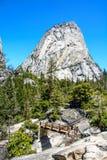 Montagna di Yosemite Fotografie Stock