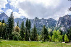 Montagna di Yosemite Immagine Stock