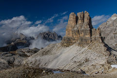 Montagna-dolomia massicce delle dolomia, Tirolo, Italia Fotografie Stock