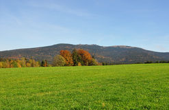 Montagna Dreisessel, Baviera Fotografia Stock Libera da Diritti