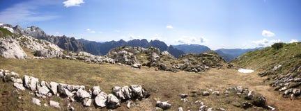 Montagna Duranno, delle Dolomiti Friulane di Parco Fotografie Stock Libere da Diritti