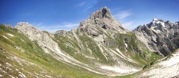 Montagna Duranno, delle Dolomiti Friulane di Parco Immagine Stock
