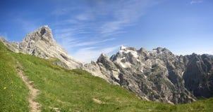 Montagna Duranno, delle Dolomiti Friulane di Parco Fotografia Stock