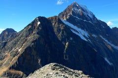 Montagna e ghiacciaio Fotografia Stock Libera da Diritti