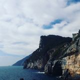 Montagna e mare dell'ITALIA combinati Fotografia Stock