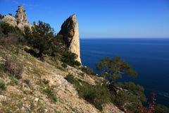 Montagna e paesaggio del mare. Foto 0169 Fotografia Stock Libera da Diritti