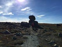 Montagna e rocce Fotografia Stock Libera da Diritti