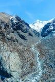 Montagna ed alpi al Cervino in Zermatt Svizzera Immagini Stock Libere da Diritti