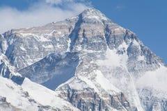 Montagna Everest di mattina Fotografia Stock Libera da Diritti