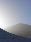 Montagna fredda Fotografia Stock