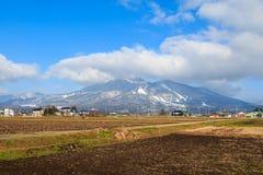 Montagna in Fugushina Fotografie Stock Libere da Diritti