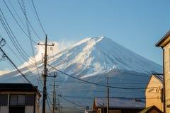 Montagna Fuji nel Giappone Immagini Stock Libere da Diritti