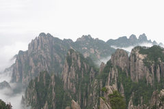 Montagna gialla 2, Cina fotografia stock
