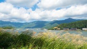 Montagna Giappone Fotografia Stock